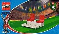 LEGO 4461 Coca-Cola Bench レゴ サッカー コカコーラ ベンチ