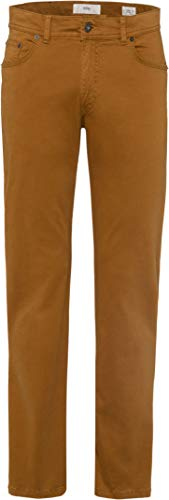 BRAX Cooper Fancy Marathon 2.0 Flex Five Pocket Casual Regular Fit Pantaloni, Gelb (Curry 65), W32/L32 Uomo