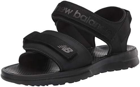 New Balance Men s 250 V1 Adjustable Sandal Black Black 9 X Wide product image