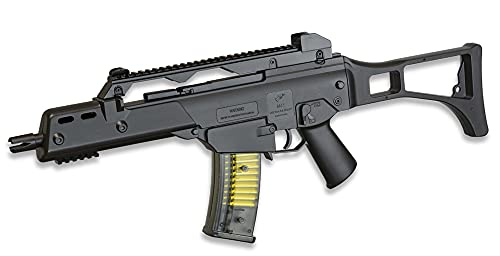 Tiendas LGP - Subfusil M41 Tipo G36, Arma Airsoft, Aire Suave Double Eagle, Potencia 0,5 Julios, Airsoft Replica, Munición Bolas PVC 6 mm.