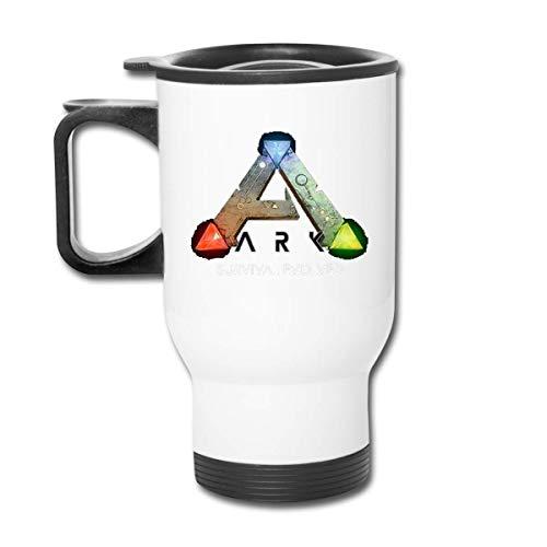 JUKIL ARK Survival Evolved Car Cup Edelstahl Vakuumisolierter Becher Reisebecher Wassergläser Kaffeetassen