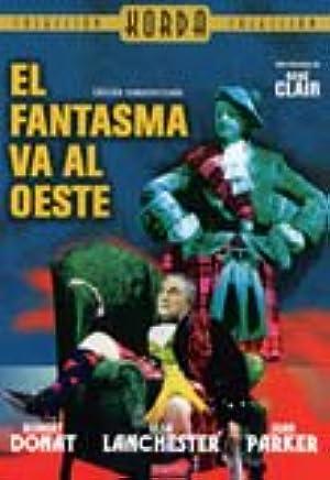 The Ghost Goes West El Fantasma Va al Oeste  PAL/REGION 2 DVD. Spain