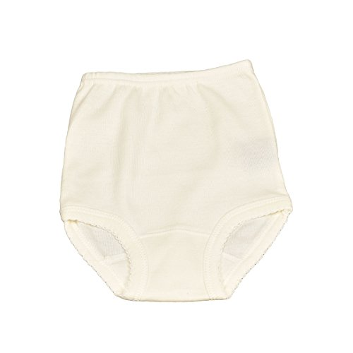 Babidu babidu Unisex Baby 2100 Braguita Bebe 1x1 Taufbekleidung, weiß (weiß 1), 92