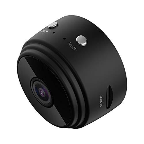 YEYU Cámara de red WiFi BH HD 1080P cámara inalámbrica para interiores Audio Detección de movimiento Cámara web (Color: Negro)