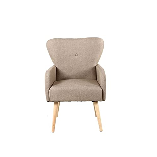 KJLY Sofás sofás sillas de jardín cómodo Ocio tapizado Silla sofá sofá Oficina Moda sofá sillón, 59 * 50 * 89cm (Color : Gray)