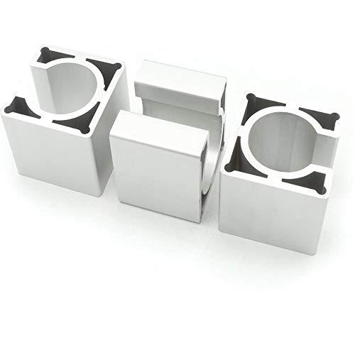 RATTMMOTOR 3 Stück Schrittmotorhalterung für Nema 23 Schrittmotor Aluminium Halterung für CNC Graviermaschine