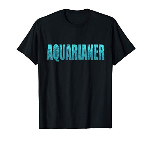 Aquarium Aquaristik Aquascaping Aquarianer T-Shirt