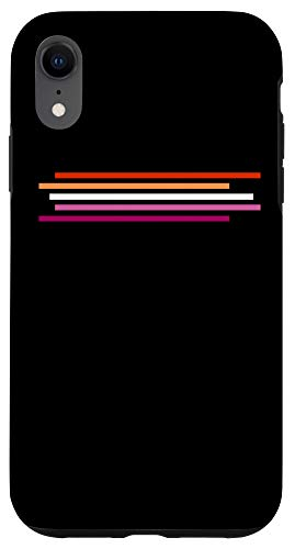 iPhone XR Lesbian Flag Pride Phone Case