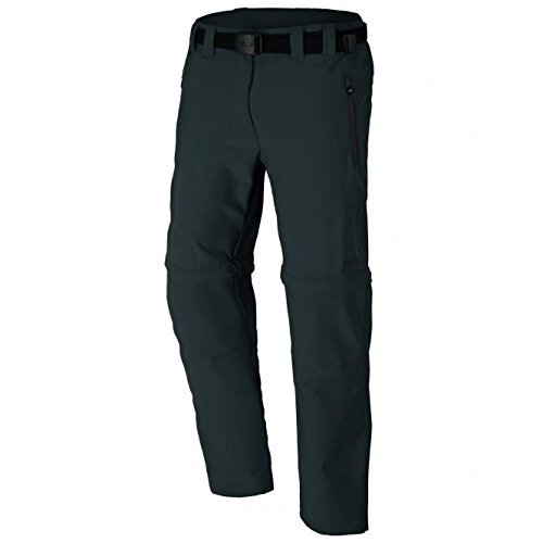 CMP Zip Off Dry Function Trousers Pantalon Femme, Anthracite, 48