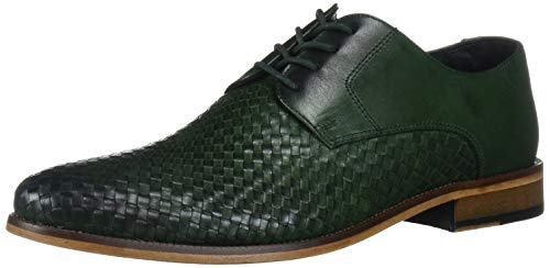 Leather Weave Shoes for Men