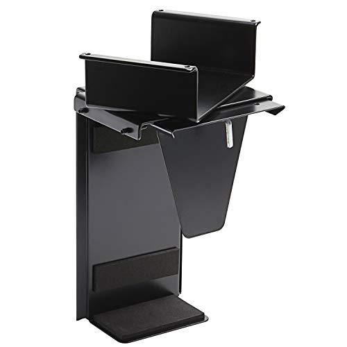 boho office® CPU-Halter, PC Halterung zur Montage unterhalb der Tischplatte, flexibel anpassbar an Fast jeden Desktop PC…