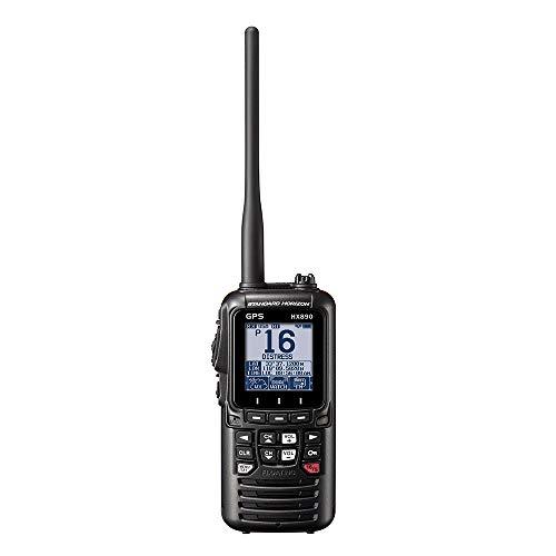 Standard Horizon HX890BK VHF-HH, 6 Watt, w/GPS&FM Rcvr