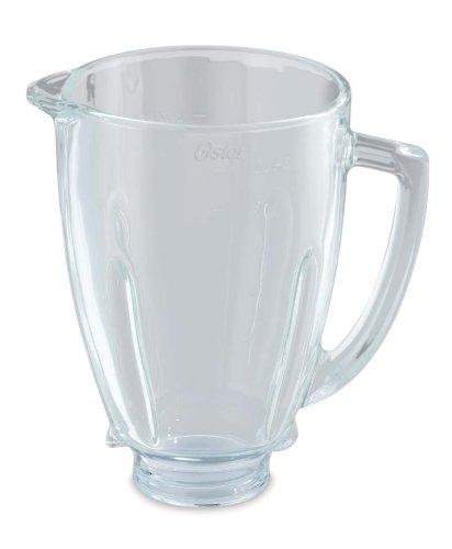 Oster BLSTAJ-G00-050 - Jarra de vidrio redonda 6 tazas (1.5 l)