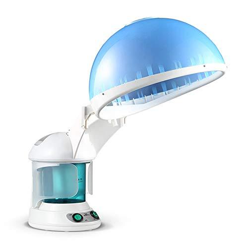 XALO Gesichtsdampfer, Bewegliche 2-In-1 Haar Dampfer Gebacken Öldeckel Gesichtsaromatherapie Sprayer, Für Die Hautpflege Zu Hause Schönheit Frau