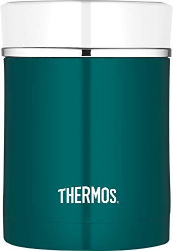THERMOS 0,47l Premium 4005.205.047Alimentaire Boîte de Rangement, Bleu Sarcelle, 9,7x9,7x13,5 cm