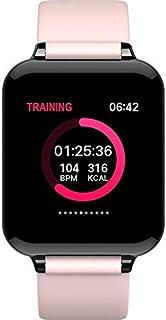 LINGJIA Pulsómetros Pulsera Inteligente Deporte Pasómetro Multifuncional Frecuencia Cardíaca Presión Arterial Oxígeno Dormir Monitor Reloj