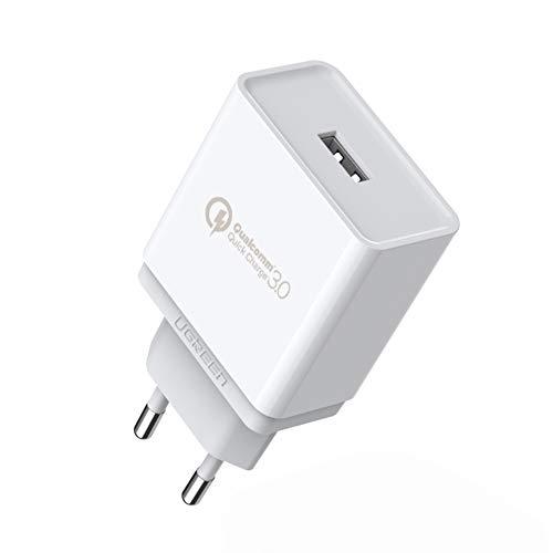 UGREEN USB Ladegerät Quick Charge 3.0 18W Handy Schnellladegerät