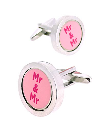 Gemelolandia   Gemelos Para Camisa Pareja Gay Mr&Mr Gemelos Originales Para Camisas   Para Hombres y Niños   Regalos Para Bodas, Comuniones, Bautizos y Otros Eventos