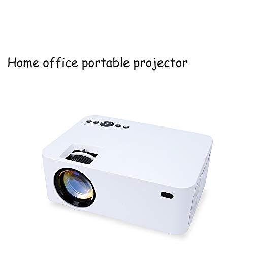 Projeatione Mini Beamer, Kompatibel Mit DLNA/Mirracast, Verfügen Über Spiegelungs- Und Bildschirmfunktionen, WI-FI Wireless On-Screen-Technologie