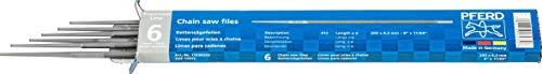 PFERD kettingzaagvijlen – voor het handmatig slijpen van zaagkettingen. Premium Line Feilen-ø 4,5 mm Verpakking van 6 stuks.