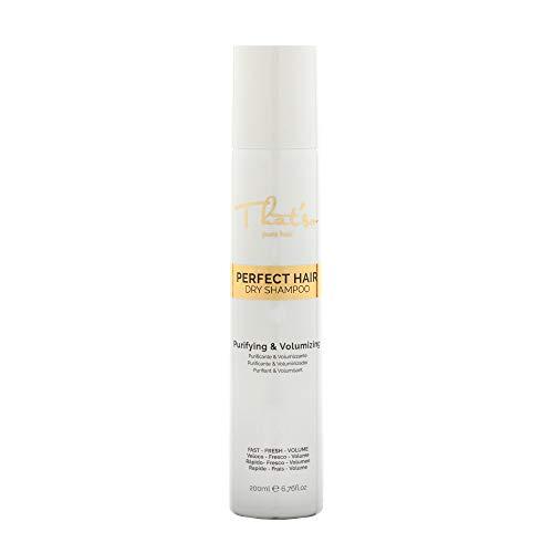 That'So Perfect Hair Dry Shampoo - Shampoo Secco Purificante E Volumizzante con the verde, proteine della seta e amido di riso - 200 Ml