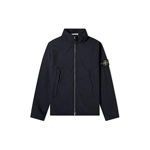 Stone Island Jacke, Polyester, Reißverschluss, Marineblau -  Blau -  Medium