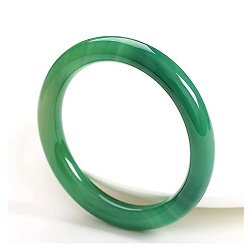 COKILU Jade brazaletes 7a Verde Jade Brazalete Jade Pulsera brazaletes Jadeite Tallado a Mano Esmeralda brazaletes Dama Fiesta Regalo sanación Piedra pavimenta Fuera de los espíritus malvados Diner