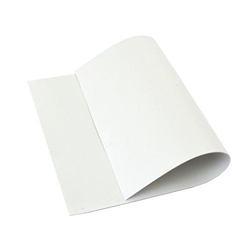 Cisne 2013, S.L. 10 láminas de Goma Eva 40x60 cm, 2mm Grosor Blanco