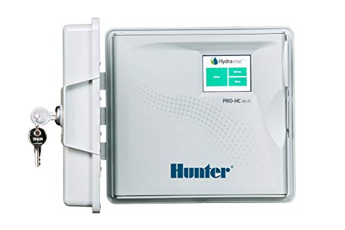 Hunter PRO-HC PHC-1200 Residential Outdoor Professional Grade Wi-Fi Controller with Hydrawise Web-Based Software - 12 Station