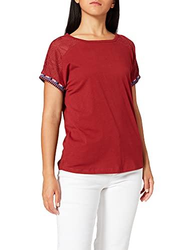 Cecil Damen 316650 T-Shirt, Copper Brown, L