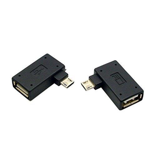 CY Micro OTG Adapter 2 Pack USB 2.0 Micro USB Male to USB Female OTG Adapter