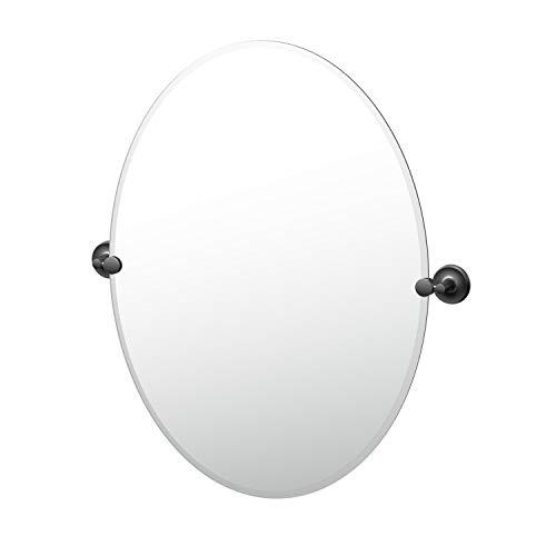 Gatco Designer II Frameless Oval Mirror, 32 Inch, Matte -