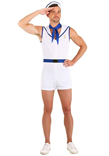 Disfraz de marinero para hombre, talla M