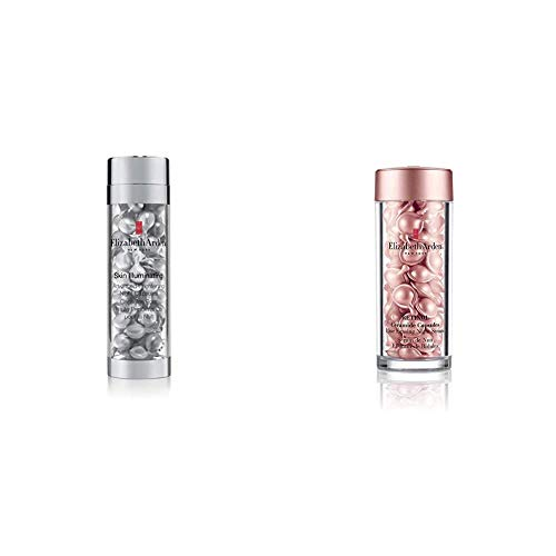 Elizabeth Arden Skin Illuminating Advanced Brightening Night Capsules, 50 Stücke & Retinol Ceramide Capsules Line Erasing Night Serum, 60 Capsules