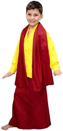 Buddha monk costume _image2