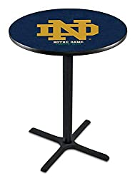 Notre Dame Fighting Irish Black Pub Table