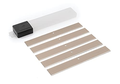 Titan 11516 5-Piece 4-Inch Scraper Blade Set
