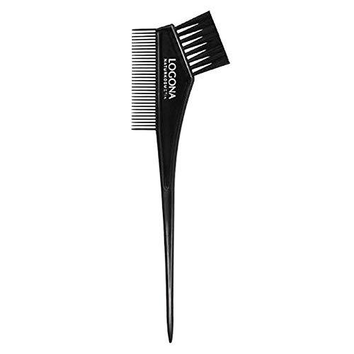 LOGONA Naturkosmetik Färbepinsel für Haarcoloration, optimal geeignet für Pflanzen-Haarfarben, einfaches Auftragen, praktische Kamm- & Pinselseite