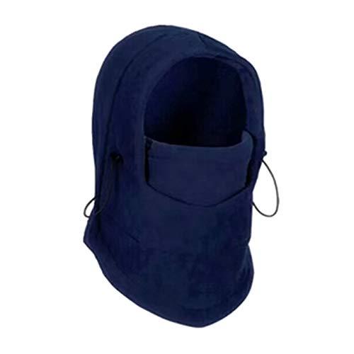YNLRY Heat Holders - Gorro de invierno para senderismo, forro polar térmico y cálido, para hombre, ideal para correr, pescar, ciclismo, color azul