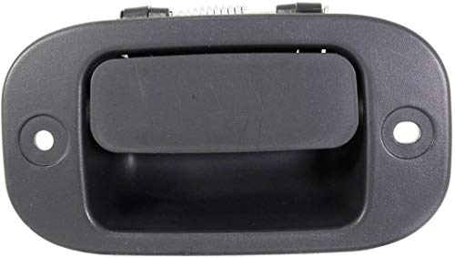 Interior Door Handle compatible with Dodge Dakota 05-11 Rear RH Extended Cab Interior Black