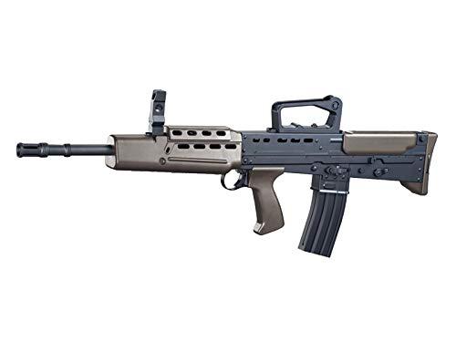 Rayline L85A1 Softair Gewehr (Manuell Federdruck), Material: ABS (Stoßfest), Nachbau im Maßstab 1:1, Länge: 78cm, Gewicht: 1500g, Kaliber: 6mm, Farbe: Schwarz - (unter 0,5 Joule - ab 14 Jahre)