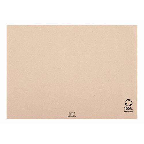 """Garcia de pou Sets De Table """"Feel Green"""" Recyclés 48 G/M2 31X43 Cm Naturel Papier - 500 unités"""