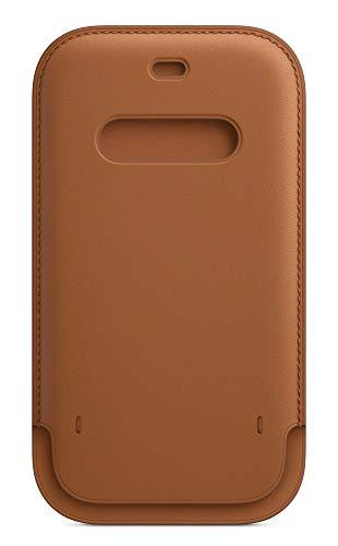 Apple Lederhülle mit MagSafe(für iPhone 12 | 12 Pro) - Sattelbraun