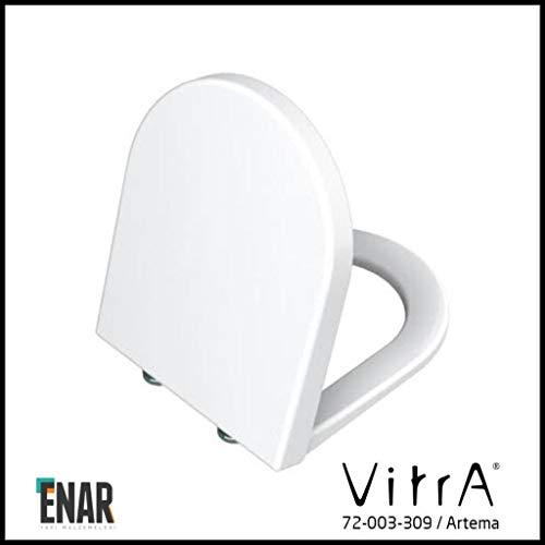 Vitra S50 Toilet Seat with Slow-Close Mechanism 003/309 White S50 WC-Sitz und Deckel, weiß, Nicht zutreffend