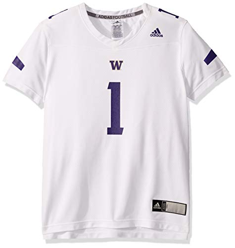 adidas NCAA Damen Trikot Replica, Damen, Women's Replica Jersey F19, weiß, Large
