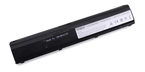 Batterie LI-ION 4400mAh 14.8V Noir Compatible pour ASUS remplace 15-100360301/90-N95B1000 / 90-N95B1100 / 90-N95B1200 / A42-M6