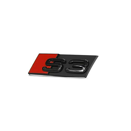 Schriftzug S3 Kühlergrill Tuning Emblem Exclusive Black Edition Logo schwarz