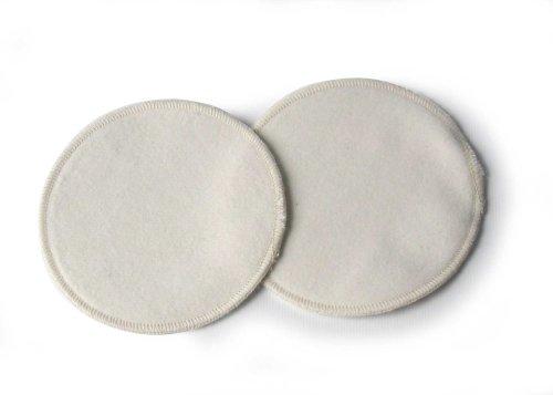 ELANEE Coussinets 210–04 – Allaitement Classic 13 cm de coton molleton, 3 plis
