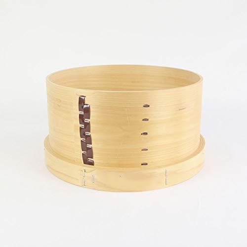 国産ひのき木製和せいろ28cm約2升用蒸し器底は4ヶ所穴明きタイプ1個