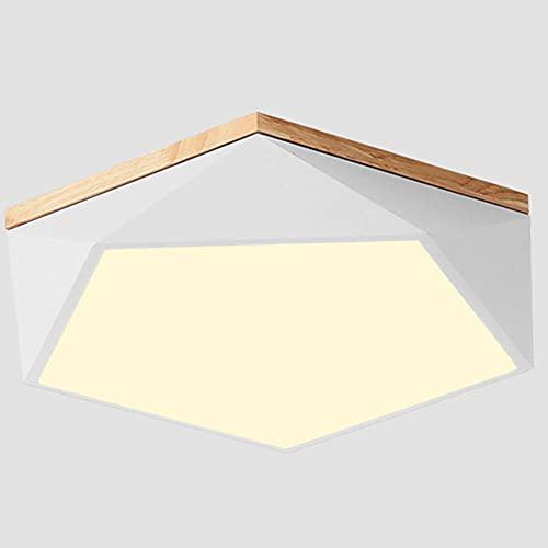 CHENKUI Lámpara De Techo LED Regulable De Tres Colores Moderna Color Macaron Luz De Techo Simple para El Hogar Iluminación De Techo De Ahorro De Energía para Dormitorio, Balcón, Ático